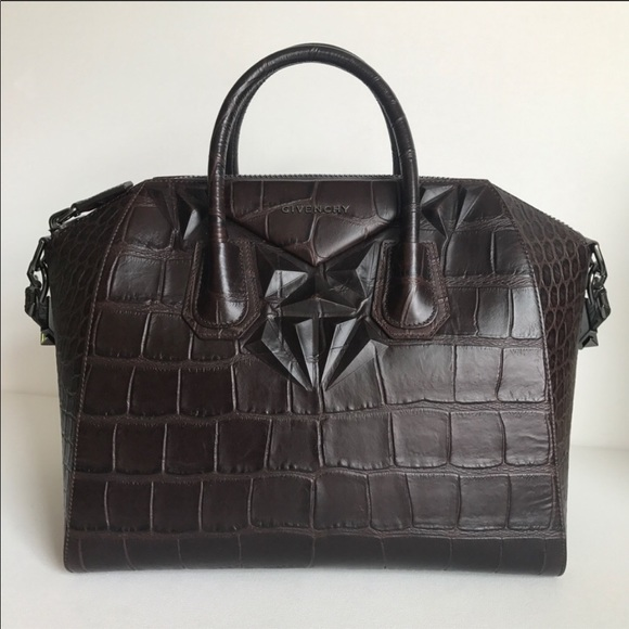 Givenchy Handbags - Authentic Givenchy Medium Antigona Croc Embossed